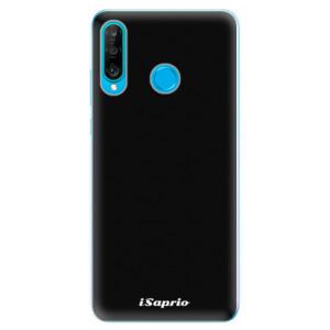 Silikonové odolné pouzdro iSaprio 4Pure černé na mobil Huawei P30 Lite