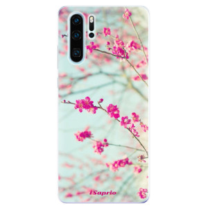 Silikonové odolné pouzdro iSaprio Blossom 01 na mobil Huawei P30 Pro