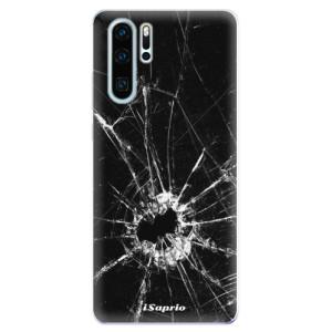 Silikonové odolné pouzdro iSaprio Broken Glass 10 na mobil Huawei P30 Pro