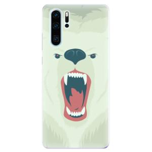 Silikonové odolné pouzdro iSaprio Naštvanej Medvěd na mobil Huawei P30 Pro