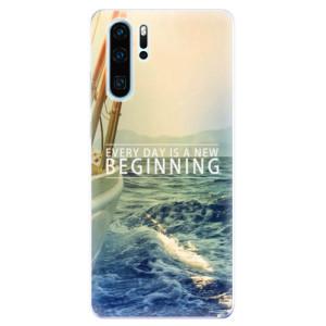 Silikonové odolné pouzdro iSaprio Beginning na mobil Huawei P30 Pro