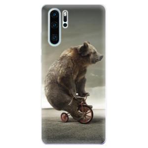 Silikonové odolné pouzdro iSaprio Medvěd 01 na mobil Huawei P30 Pro
