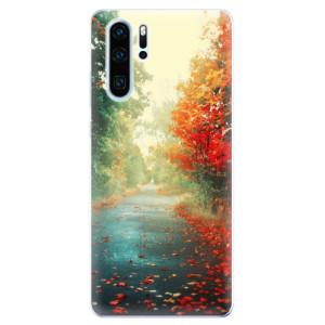 Silikonové odolné pouzdro iSaprio Podzim 03 na mobil Huawei P30 Pro