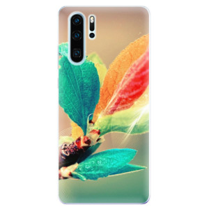 Silikonové odolné pouzdro iSaprio Podzim 02 na mobil Huawei P30 Pro