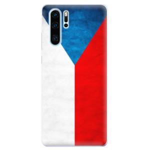 Silikonové odolné pouzdro iSaprio Česká Vlajka na mobil Huawei P30 Pro