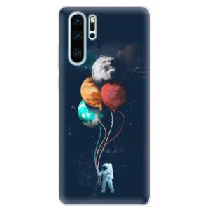Silikonové odolné pouzdro iSaprio Balónky 02 na mobil Huawei P30 Pro