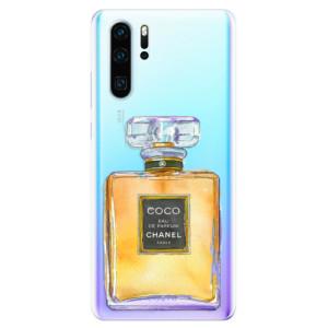 Silikonové odolné pouzdro iSaprio Chanel Gold na mobil Huawei P30 Pro