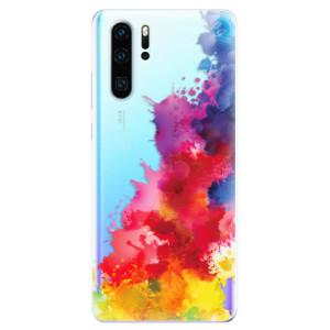 Silikonové odolné pouzdro iSaprio Color Splash 01 na mobil Huawei P30 Pro