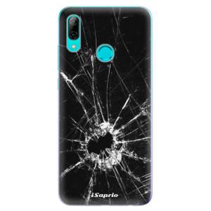 Silikonové odolné pouzdro iSaprio Broken Glass 10 na mobil Huawei P Smart 2019