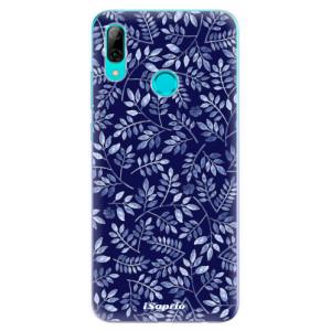 Silikonové odolné pouzdro iSaprio Blue Leaves 05 na mobil Huawei P Smart 2019