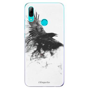 Silikonové odolné pouzdro iSaprio Havran 01 na mobil Huawei P Smart 2019