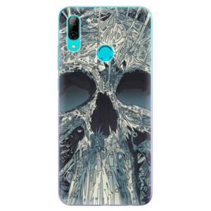 Silikonové odolné pouzdro iSaprio Abstract Skull na mobil Huawei P Smart 2019