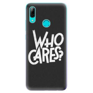Silikonové odolné pouzdro iSaprio Who Cares na mobil Huawei P Smart 2019