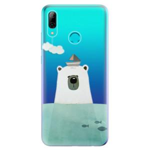 Silikonové odolné pouzdro iSaprio Medvěd s Lodí na mobil Huawei P Smart 2019