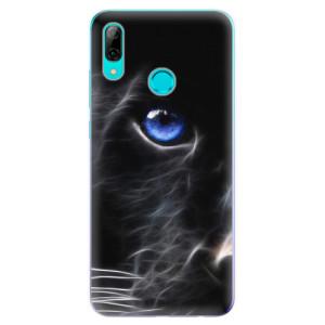 Silikonové odolné pouzdro iSaprio Black Puma na mobil Huawei P Smart 2019