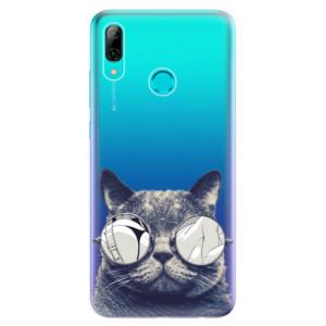 Silikonové odolné pouzdro iSaprio Šílená Číča 01 na mobil Huawei P Smart 2019