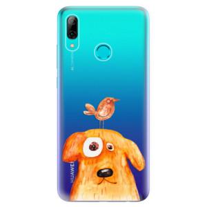 Silikonové odolné pouzdro iSaprio Pejsek a Ptáček na mobil Huawei P Smart 2019