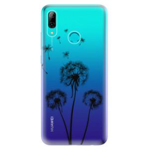 Silikonové odolné pouzdro iSaprio Tři Černé Pampelišky na mobil Huawei P Smart 2019