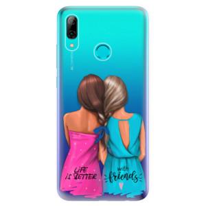 Silikonové odolné pouzdro iSaprio Best Friends na mobil Huawei P Smart 2019