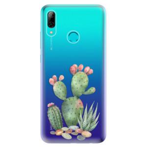 Silikonové odolné pouzdro iSaprio Kaktusy 01 na mobil Huawei P Smart 2019