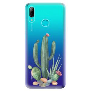 Silikonové odolné pouzdro iSaprio Kaktusy 02 na mobil Huawei P Smart 2019