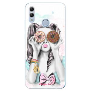 Silikonové odolné pouzdro iSaprio Donutky Očiska 10 na mobil Honor 10 Lite