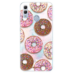 Silikonové odolné pouzdro iSaprio Donutky Všude 11 na mobil Honor 10 Lite