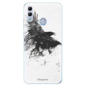 Silikonové odolné pouzdro iSaprio Havran 01 na mobil Honor 10 Lite