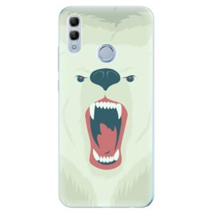 Silikonové odolné pouzdro iSaprio Naštvanej Medvěd na mobil Honor 10 Lite