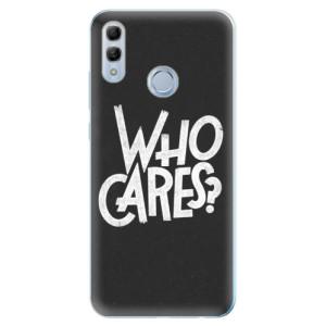 Silikonové odolné pouzdro iSaprio Who Cares na mobil Honor 10 Lite