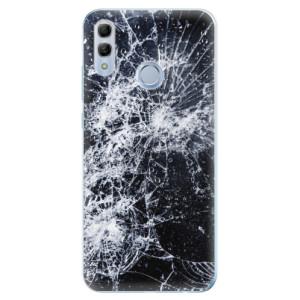 Silikonové odolné pouzdro iSaprio Praskliny na mobil Honor 10 Lite