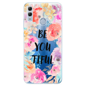 Silikonové odolné pouzdro iSaprio BeYouTiful na mobil Honor 10 Lite