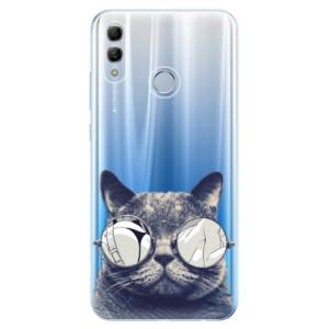 Silikonové odolné pouzdro iSaprio Šílená Číča 01 na mobil Honor 10 Lite