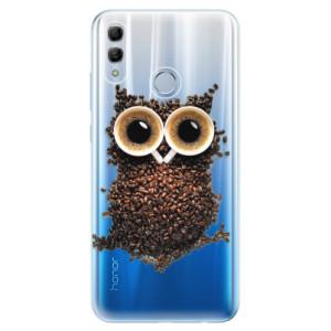 Silikonové odolné pouzdro iSaprio Sova Káva na mobil Honor 10 Lite