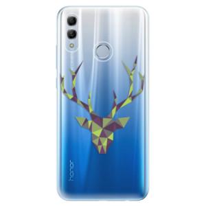 Silikonové odolné pouzdro iSaprio Zelený Jelínek na mobil Honor 10 Lite