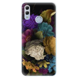 Silikonové odolné pouzdro iSaprio Temné Květy na mobil Honor 10 Lite