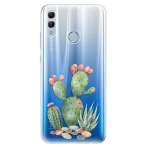 Silikonové odolné pouzdro iSaprio Kaktusy 01 na mobil Honor 10 Lite