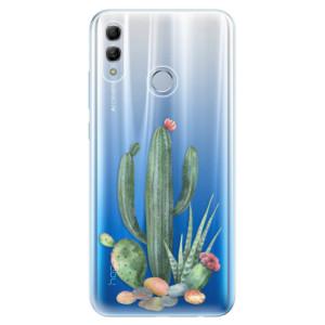 Silikonové odolné pouzdro iSaprio Kaktusy 02 na mobil Honor 10 Lite