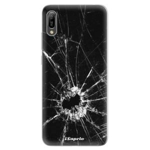 Silikonové odolné pouzdro iSaprio Broken Glass 10 na mobil Huawei Y6 2019