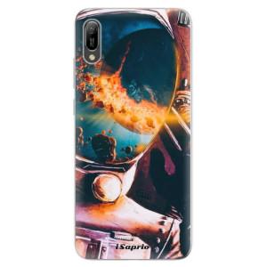 Silikonové odolné pouzdro iSaprio Astronaut 01 na mobil Huawei Y6 2019