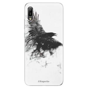 Silikonové odolné pouzdro iSaprio Havran 01 na mobil Huawei Y6 2019
