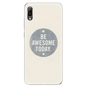 Silikonové odolné pouzdro iSaprio Awesome 02 na mobil Huawei Y6 2019