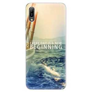 Silikonové odolné pouzdro iSaprio Beginning na mobil Huawei Y6 2019