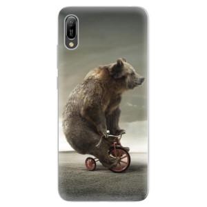 Silikonové odolné pouzdro iSaprio Medvěd 01 na mobil Huawei Y6 2019