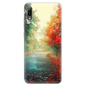 Silikonové odolné pouzdro iSaprio Podzim 03 na mobil Huawei Y6 2019