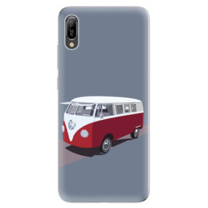 Silikonové odolné pouzdro iSaprio VW Bus na mobil Huawei Y6 2019