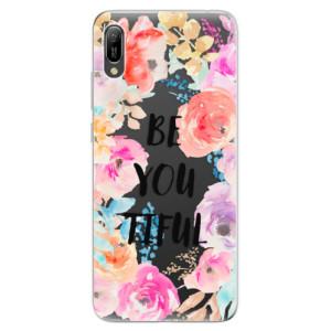 Silikonové odolné pouzdro iSaprio BeYouTiful na mobil Huawei Y6 2019