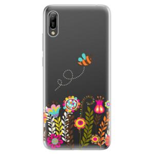 Silikonové odolné pouzdro iSaprio Včelka Pája 01 na mobil Huawei Y6 2019