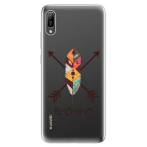 Silikonové odolné pouzdro iSaprio BOHO na mobil Huawei Y6 2019