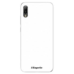 Silikonové odolné pouzdro iSaprio 4Pure bílé na mobil Huawei Y6 2019